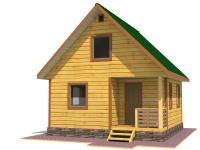 Дом из бруса 6х6 | Деревянные дома и коттеджи